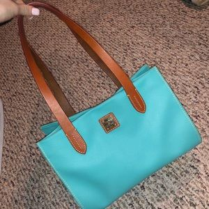 Dooney & Bourke teal purse